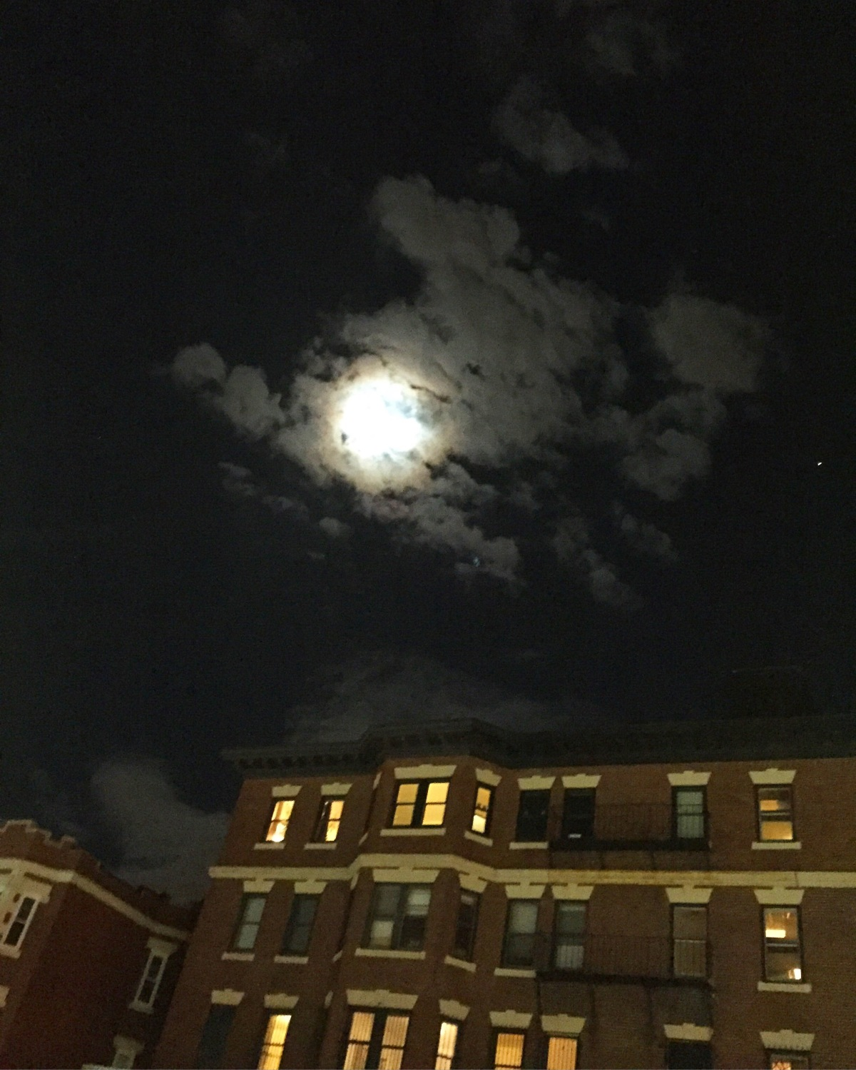 beautiful night sky in allston